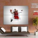 Derrick Rose Chicago Bulls Nba Basketball Sport Huge Giant Print Poster