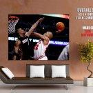 Taj Gibson Dunk Bosh Chicago Bulls Nba Basketball Huge Giant Poster
