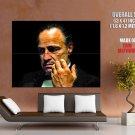 Don Vito Andolini Corleone Portrait Marlon Brando Godfather HUGE GIANT POSTER
