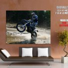Husaberg Fe570 S Wheelie Cross Sport Bike Motorcycle Huge Giant Poster