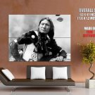 Sunflower Dakota Sioux Bw Photo Native American Indians Huge Giant Poster