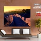 The Great Wall Of China Sunset Around The World Huge Giant Poster
