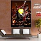 John Mc Clane Fire Hose Gun Die Hard Bruce Willis Action Movie Huge Giant Poster