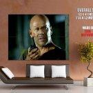John Mc Clane Radio Die Hard Bruce Willis Action Movie Huge Giant Poster