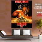 John Rambo Sylvester Stallone Original Action Movie Huge Giant Poster
