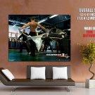 Frank Martin Transporter Jason Statham Action Movie Huge Giant Poster