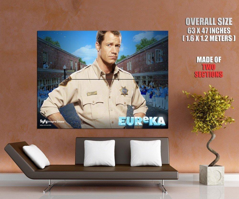 Eureka Colin Ferguson Sheriff Jack Carter Tv Series Huge Giant Poster