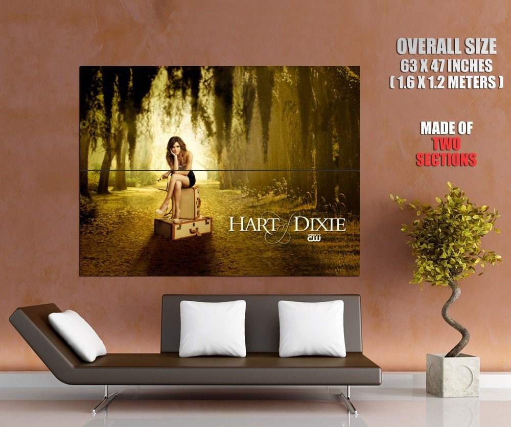 Hart Of Dixie Rachel Bilson Dr Zoe Hart Tv Series Huge Giant Poster