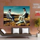 Breaking Bad Desert Bryan Cranston Aaron Paul Tv Series Huge Giant Poster