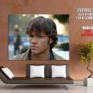 Supernatural Sam Winchester Jared Padalecki Tv Series Huge Giant Poster