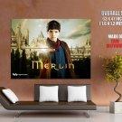 Merlin Colin Morgan Keep The Magic Secret Tv Series Huge Giant Poster