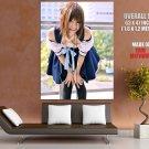 Kipi Acasius Beautiful Girl Hot Japanese Cosplay GIANT 63x47 Print Poster