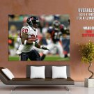 Steve Slaton Houston Texans Nfl Football Sport Huge Giant Poster