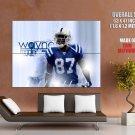 Reggie Wayne Indianapolis Colts Nfl Football Sport Huge Giant Poster