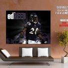 Ed Reed Baltimore Ravens Nfl Football Sport Huge Giant Poster