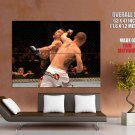 Chris Lytle Vs Brian Foster Mma Huge Giant Print Poster