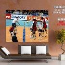 Tom Hoff Usa Volleyball Men Sport Huge Giant Print Poster