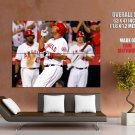 Los Angeles Angels Baseball Mlb Huge Giant Print Poster