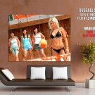 Dead Or Alive Hot Babes Beach Volleyball Huge Giant Print Poster