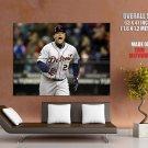 Miguel Cabrera Detroit Baseball Mlb Huge Giant Print Poster