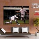 Kurt Suzuki Oakland Athletics Baseball Mlb Huge Giant Print Poster