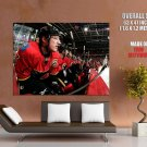 Calgary Flames Dion Phaneuf Nhl Huge Giant Print Poster