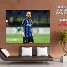 Wesley Sneijder Inter Football Sport Huge Giant Print Poster