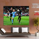 Diego Forlan Uruguay Football Sport Huge Giant Print Poster