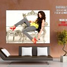 Miley Cyrus Glamour Hot Girl Singer Music Huge Giant Print Poster