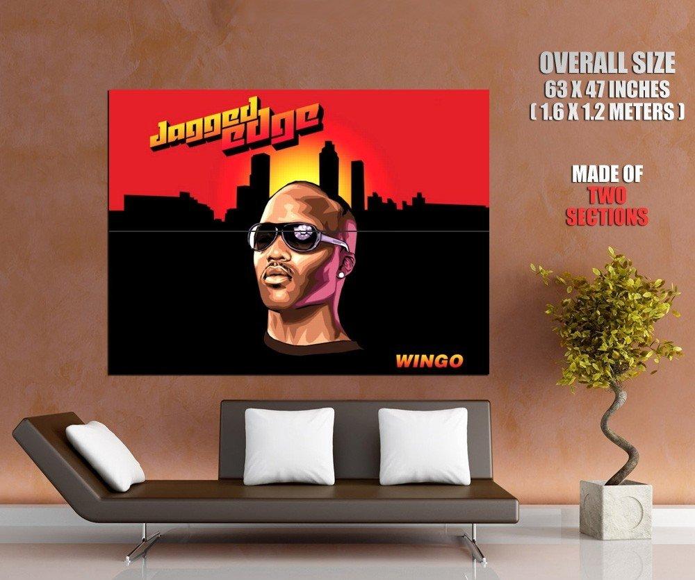 Jagged Edge Rn B Hip Hop Rap Music Huge Giant Print Poster