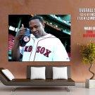 Dr Dre Red Sox Gangsta Rap Music Huge Giant Print Poster