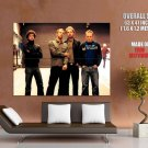 Coldplay Alternative Rock Band Music Huge Giant Print Poster