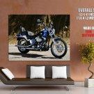Harley Davidson Fxstc Softail Custom Huge Giant Print Poster