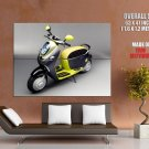 Mini E Scooter Concept Bike Motorcycle Huge Giant Print Poster
