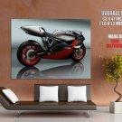 Supersport Concept Bike Motorcycle Huge Giant Print Poster