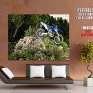 Yamaha Wr250 F Offroad Bike Motorcycle Huge Giant Print Poster