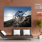 Yamaha Wr450 Offroad Bike Motorcycle Huge Giant Print Poster
