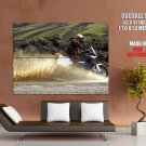 Ktm 990 Splashes Offroad Bike Huge Giant Print Poster