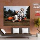 Ktm 450 Exc Drift Offroad Bike Motorcycle Huge Giant Print Poster