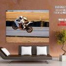 Ktm Rc8 R Wheelie Super Sport Bike Huge Giant Print Poster