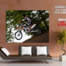 Ktm 450 Exc Wheelie Offroad Bike Huge Giant Print Poster