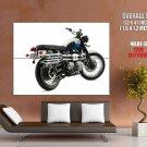 Triumph Scrambler Classic Bike Huge Giant Print Poster