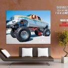 Ford Monster Truck Bigfoot Car Huge Giant Print Poster