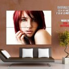 Susan Coffey Redhead Girl Portrait Huge Giant Print Poster