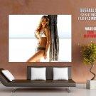 Doutzen Kroes Hot Slim Girl Bikini Huge Giant Print Poster