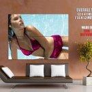 Horny Hot Wet Girl Sexy Bikini Huge Giant Print Poster