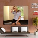 Horny Blonde Babe Showing Panties Huge Giant Print Poster