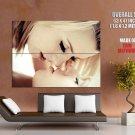 Hot Kissing Blonde Girls Lesbian Huge Giant Print Poster