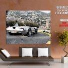 Veritas Silver Convertible Supercar Huge Giant Print Poster