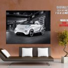 Smart Forspeed Future Concept Car Huge Giant Print Poster